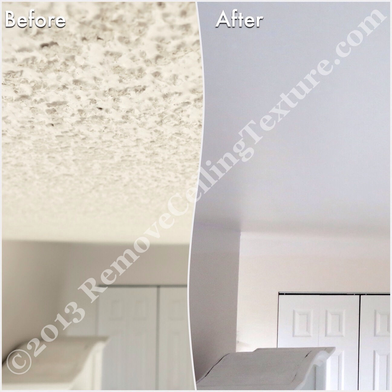 Interior Design - Ceiling Texture Removal - Entrance - Vancouver's ...