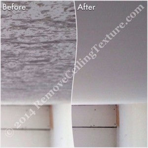 Removing Popcorn Ceilings Removeceilingtexture Com
